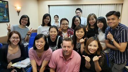 Hong Kong English Tutor Greg Shields
